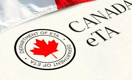 eTA Canada - Autorizzazione Elettronica di Viaggio