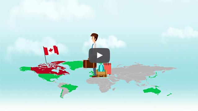 Rilascio dell'autorizzazione per viaggiare in Canada