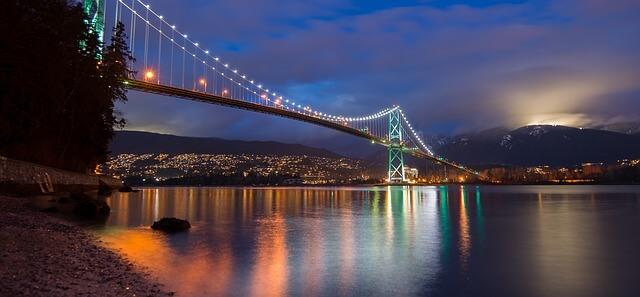 Burrard Inlet Vancouver BC Canada