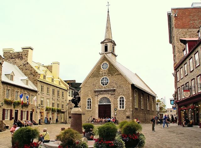 Piazza di Quebec City