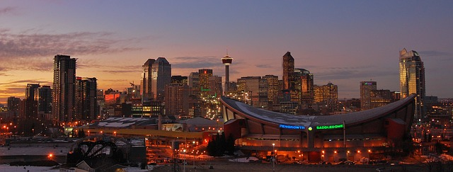 Skyline di Calgary