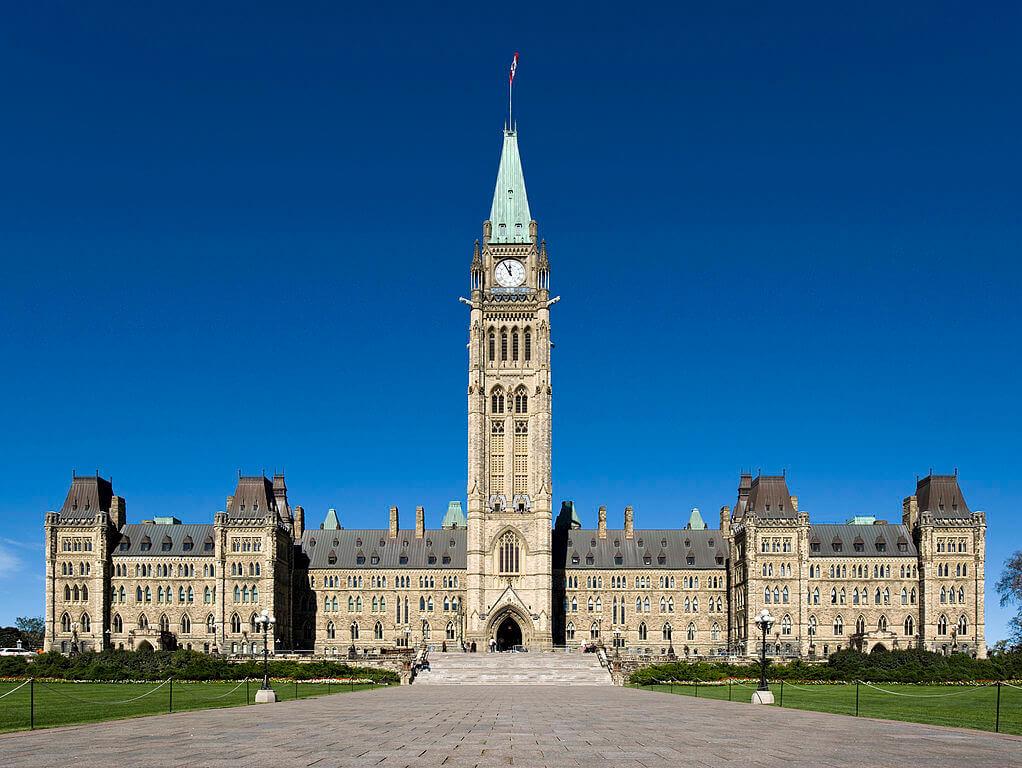 Peace Tower di Ottawa Canada