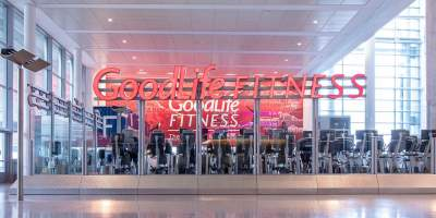 Goodlife Fitness at Toronto Pearson Airport