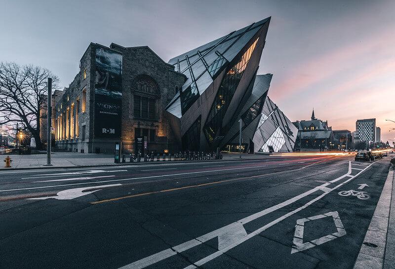 Il Royal Ontario Museum di Toronto